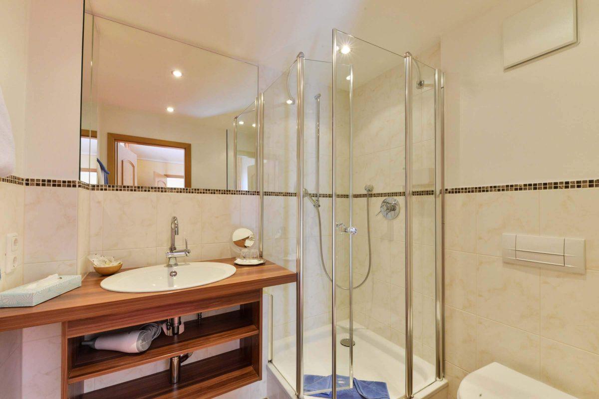 Gasthof Mühlwinkl Familienzimmer Komfortzimmer Bad